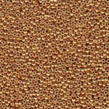 Kásagyöngy - Miyuki - 15/0 - GALVANIZED YELLOW GOLD - 1053 (0182)