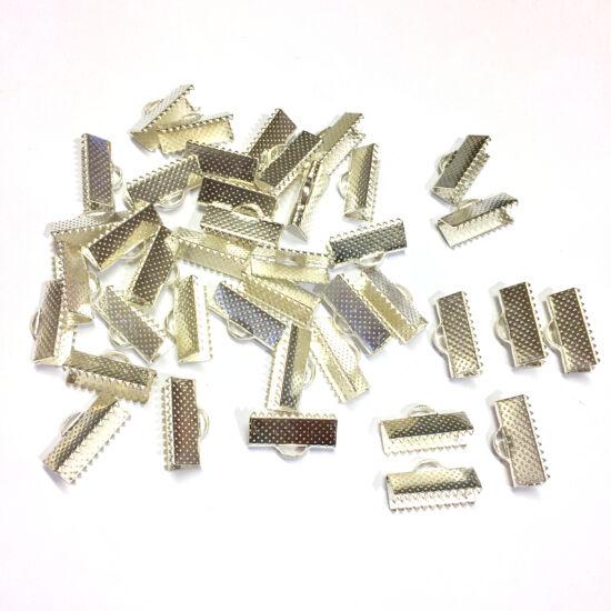 Szalagvég - 16mm - ezüst színben