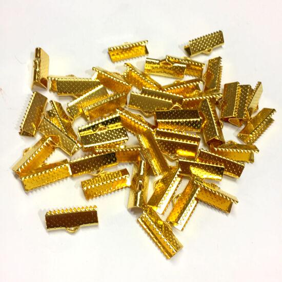 Szalagvég - 16mm - arany színben