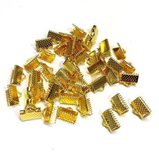 Szalagvég - 10mm - arany színben