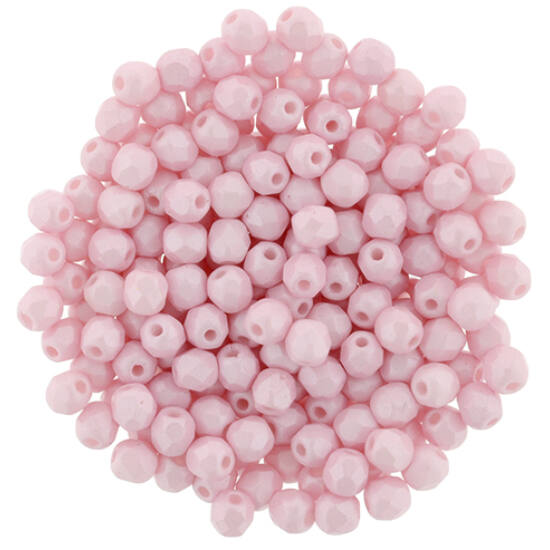 Cseh Csiszolt - 3mm - Powdery - Pastel Pink - 29305AL
