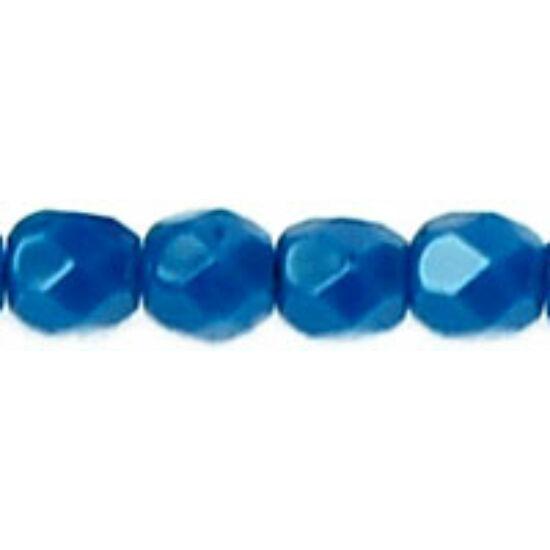 Cseh Csiszolt - 3mm - Opaque Blue