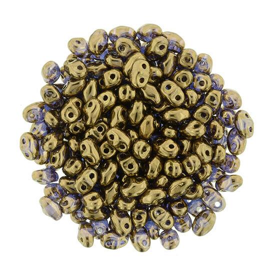 MiniDuo - 2,5x4mm - Bronze - Crystal