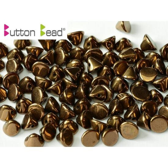 4 MM JET BRONZE, button beads