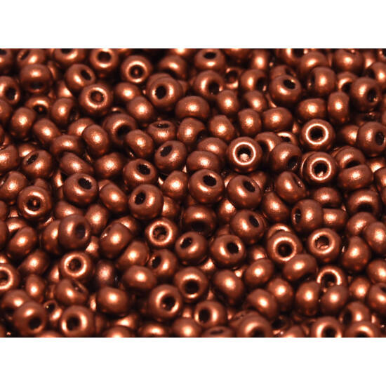 Kásagyöngy - 11/0 - Miyuki - Vintage Copper - 01770