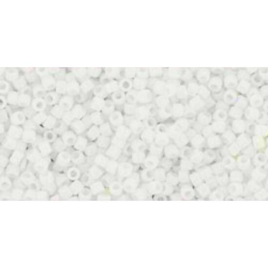 Toho kásagyöngy - 15/0 - Opaque White -41