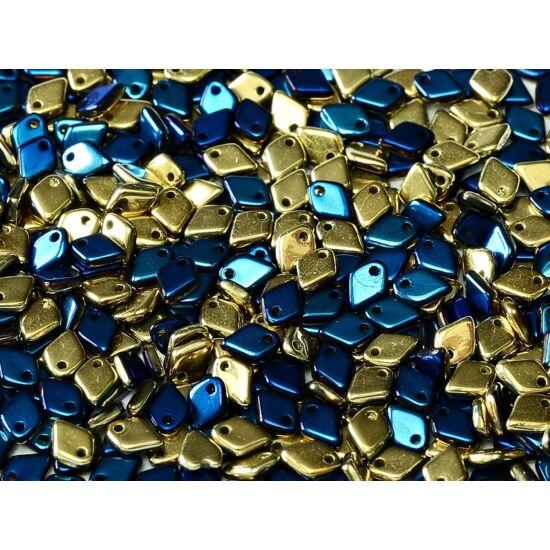 1,5x5mm JET CALIFORNIA BLUE, DRAGON® gyöngy