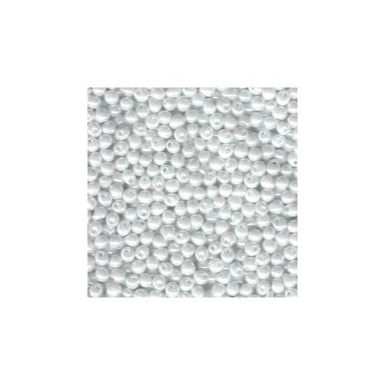 DROP- 3,4mm- Miyuki- WHITE PEARL