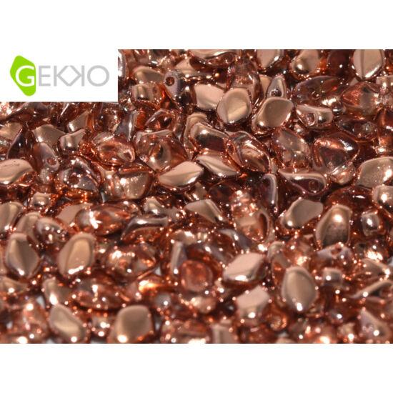 Gekko - 3x5mm - Crystal Capri Gold - 27101