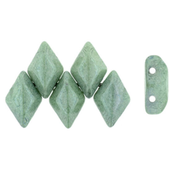 GEMDUO - 8x5mm - Luster - Green - 14459WH