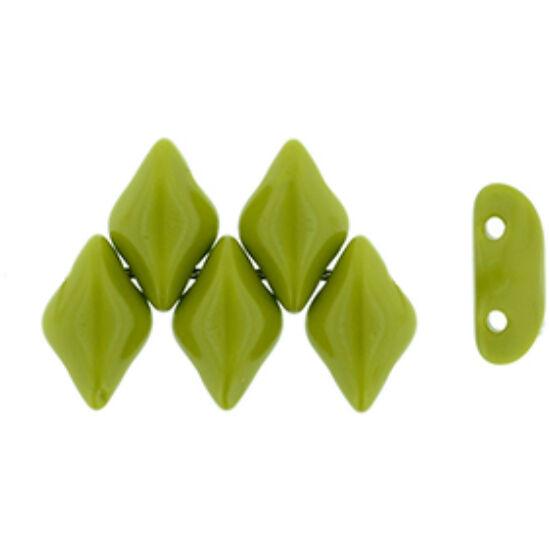 GEMDUO - 8x5mm - Opaque Olivine