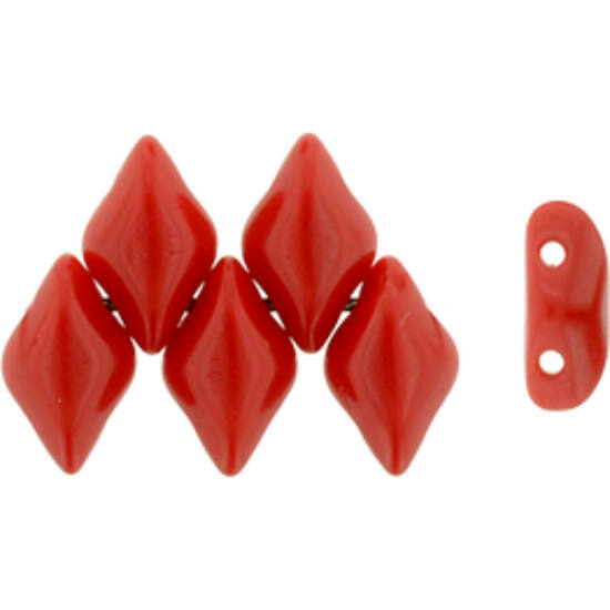GEMDUO - 8x5mm - Opaque Red - 93200