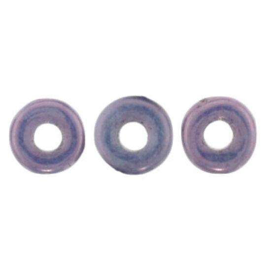 O- gyöngy - 3,8x1mm - Luster - Metallic Amethyst Chalk - LE03000