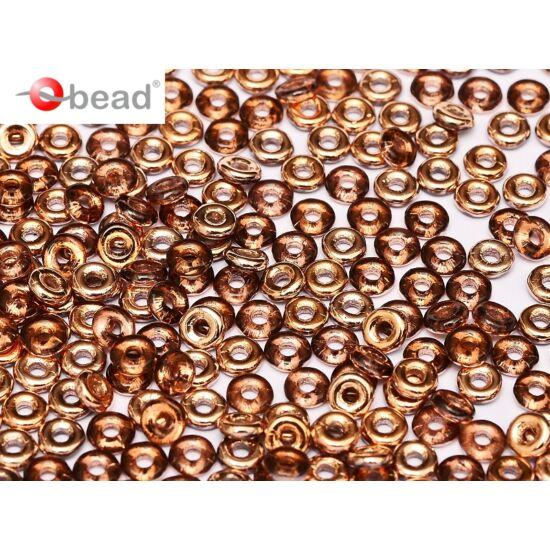 O-gyöngy - 2x4mm - AMETHYST CAPRI GOLD - 27101