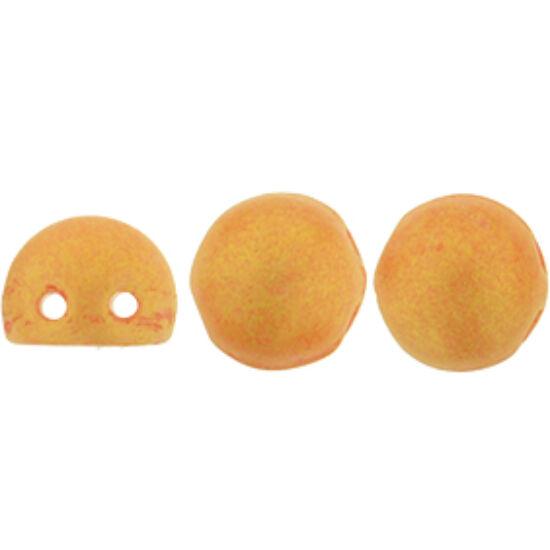 2-LYUKÚ CABOCHON - 7 MM - Pacifica - Tangerine - S1004WH