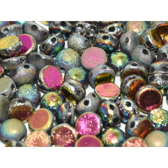 2-LYUKÚ CABOCHON  - 6 mm  - Crystal Etched Full Vitrail - 28180