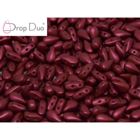 DropDuo - 3x6mm - LAVA RED - 01890