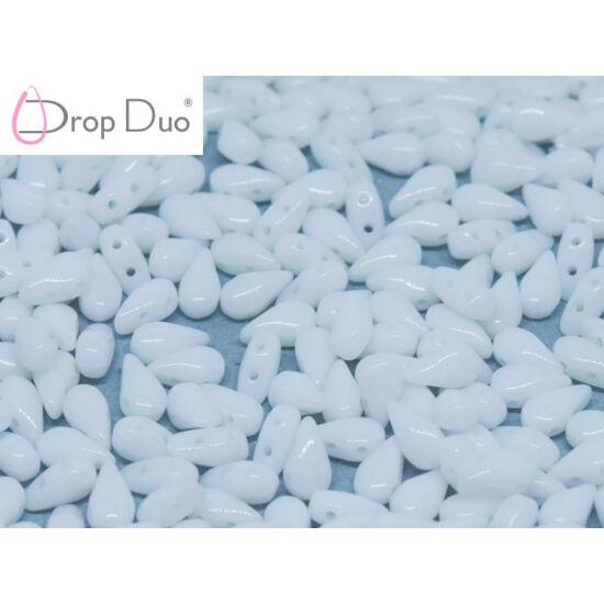 DropDuo - 3 X 6 MM - CHALK WHITE - 00030