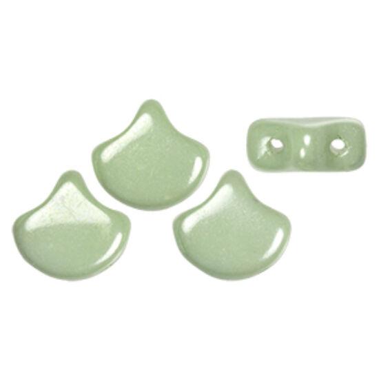 Ginko - 7,5x7,5mm - Luster - Chalk Lt Green - LS03000