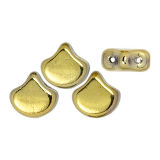 Ginko - 7,5x7,5mm - Polished Brass - 26440CR