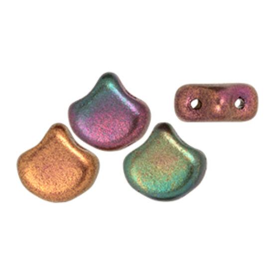 Ginko - 7,5x7,5mm - Matte - Metallic Bronze Iris - K0164