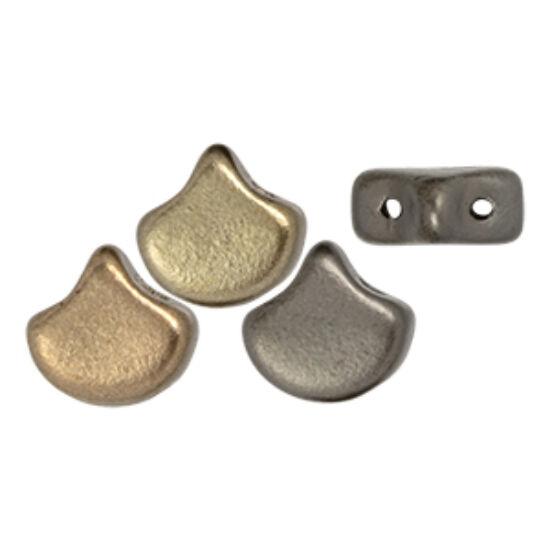 Ginko - 7,5x7,5mm - Matte - Metallic Leather - K0167