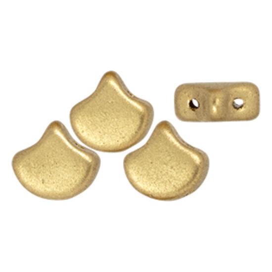 Ginko - 7,5x7,5mm - Matte - Metallic Flax - K0171