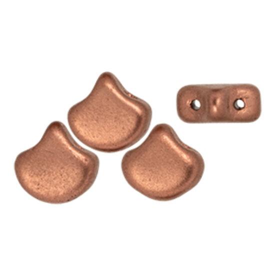 Ginko - 7,5x7,5mm - Matte - Matte - Metallic Bronze - K0178