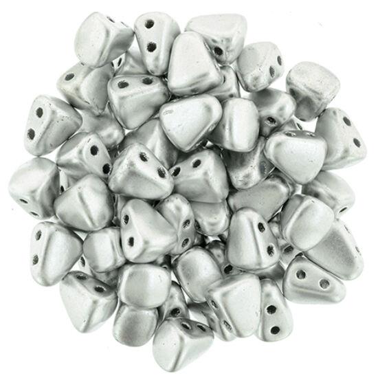 NIB-BIT - 6x5mm - Matte - Metallic Silver - K0170