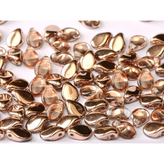 5 X 7 MM CRYSTAL CAPRI GOLD- Pip gyöngy