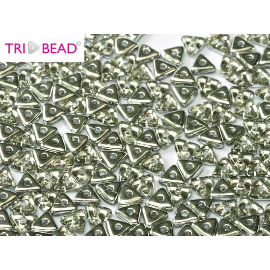 4mm CRYSTAL LABRADOR, Tri-Beads