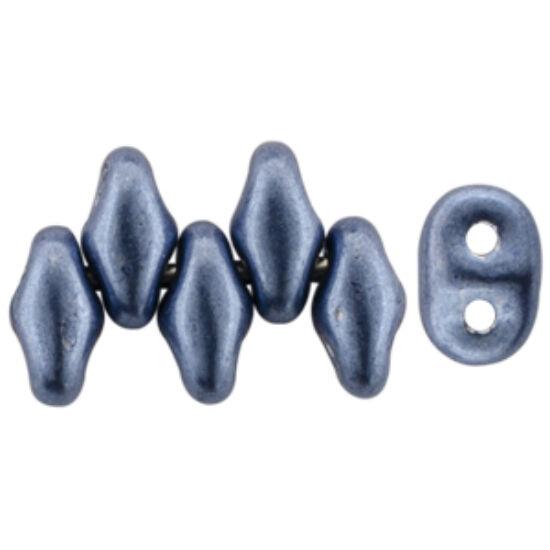 Superduo - 2,5x5mm - Saturated Metallic Bluestone - 07B02