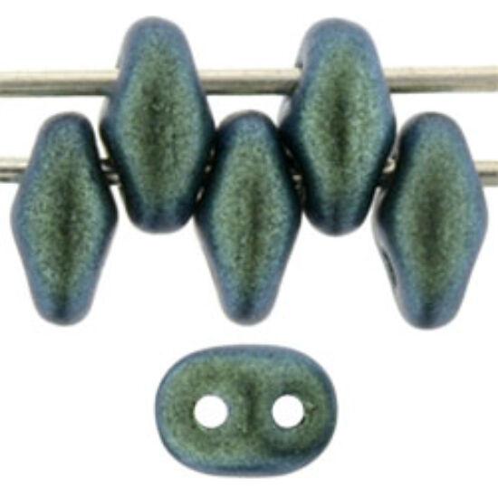 SuperDuo - 2,5x5mm - Polychrome - Aqua Teal
