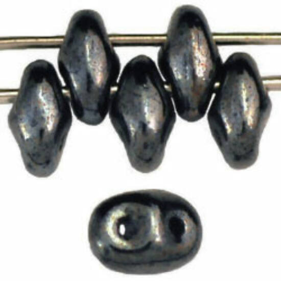 Superduo - 2,5x5mm - Hematite - L23980