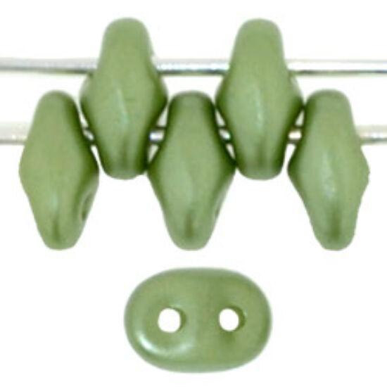 SuperDuo - 2,5x5mm - Pearl Coat - Olive - 25034AL