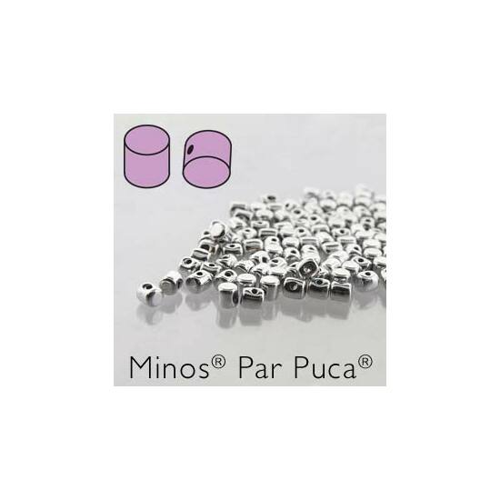 Minos® par Puca®- Argentees 2,5x3mm