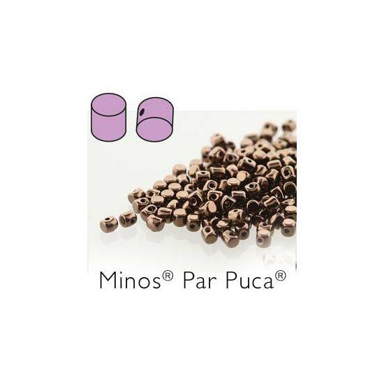 Minos® par Puca®- Dark Bronze 2,5x3mm