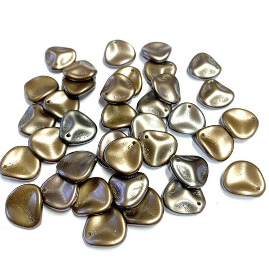 Petal gyöngy - 14x13mm - ZINC IRIS - 01670