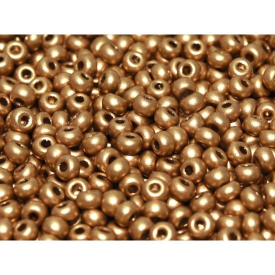 Kásagyöngy - Miyuki - 11/0 - ETCHED AZTEC GOLD