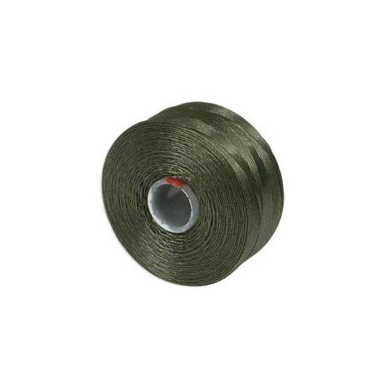 Gyöngyfűző cérna - S-LON - OLIVE