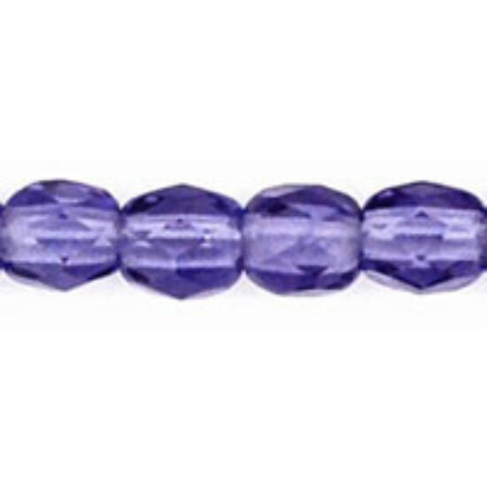 Csiszolt gyöngy- 3mm- Tanzanite