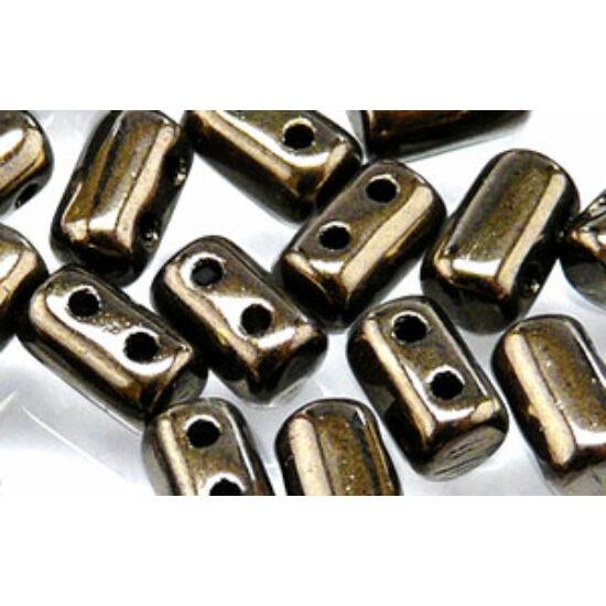 3x5mm Metál Bronz színű Rulla gyöngy