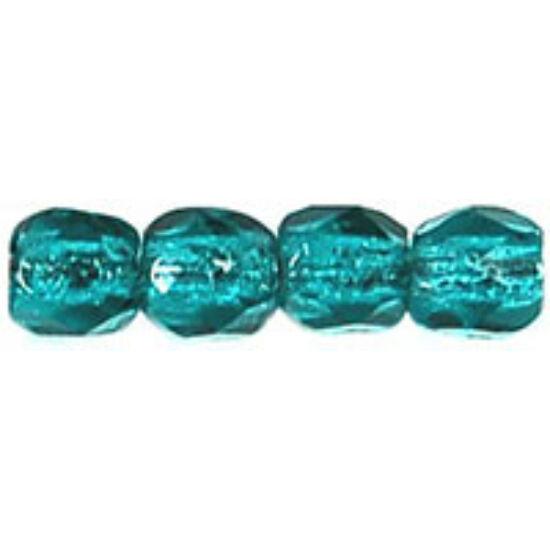 3mm-es Kékeszöld, Cseh csiszolt gyöngy