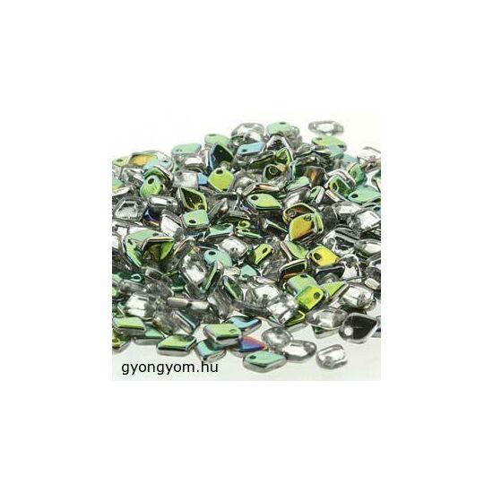 1,5x5mm Vitrial Szivárványos Crystal, DRAGON® gyöngy