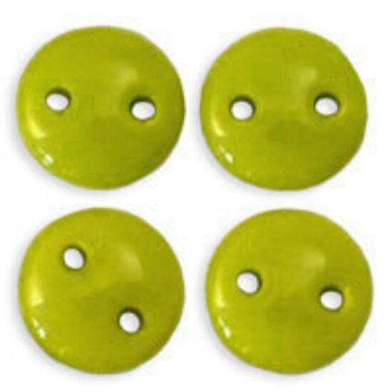 6mm Chartreuse színű lencse