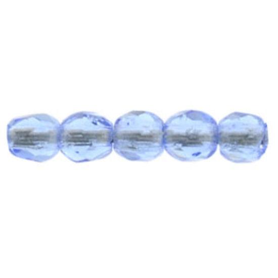 Csiszolt gyöngy - 2mm - Sapphire - 30050