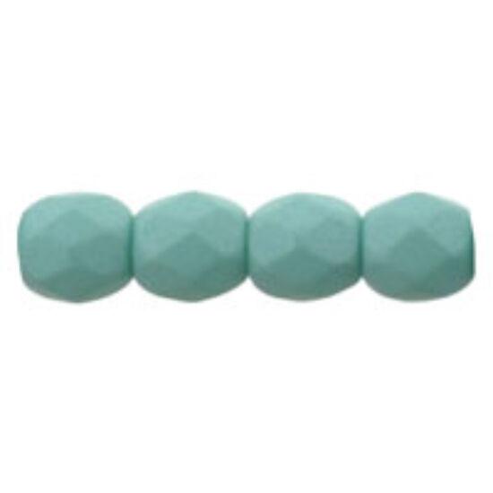 Csiszolt gyöngy- 3mm- Saturated Teal