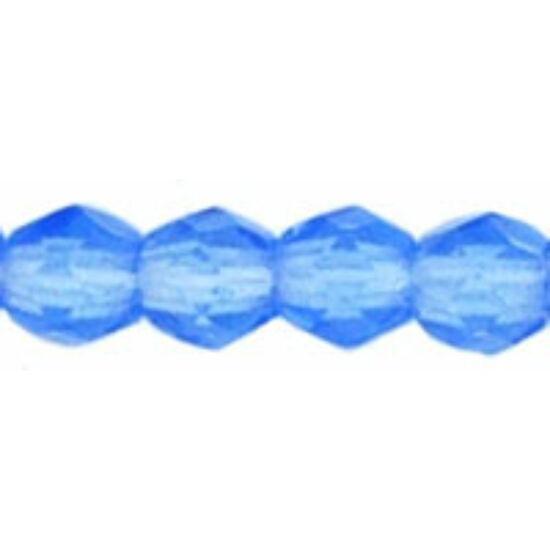 Csiszolt gyöngy- 3mm- Sapphire