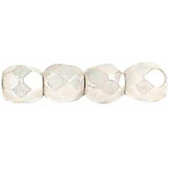 Csiszolt gyöngy- 3mm- Luster - Alabaster