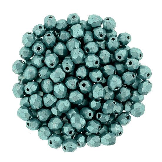 Csiszolt gyöngy- 4mm - ColorTrends: Saturated Metallic Island Paradise - 77060CR
